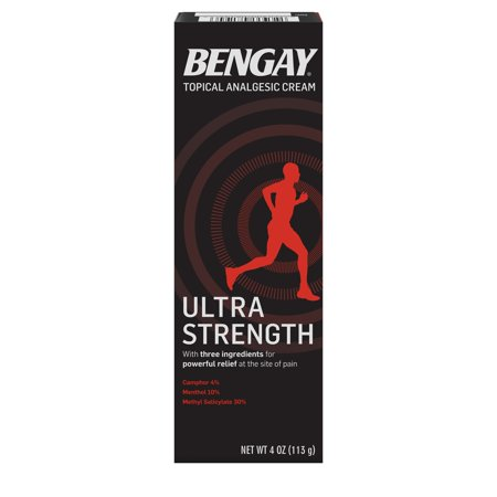 Ultra Strength Bengay Non-Greasy Topical Pain Relief Cream, 4 oz