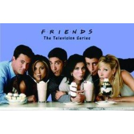 Friends Milk Shakes Television Series TV Show Poster 24x36 inch