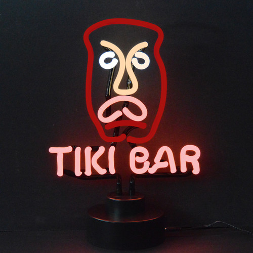 Neonetics Business Signs Tiki Bar Neon Sculpture