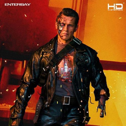 Enterbay x T-800 Terminator 2 Battle Damaged HD 1/4 Quarter Scale Figure HD-1013 New (Christmas Gift Idea)