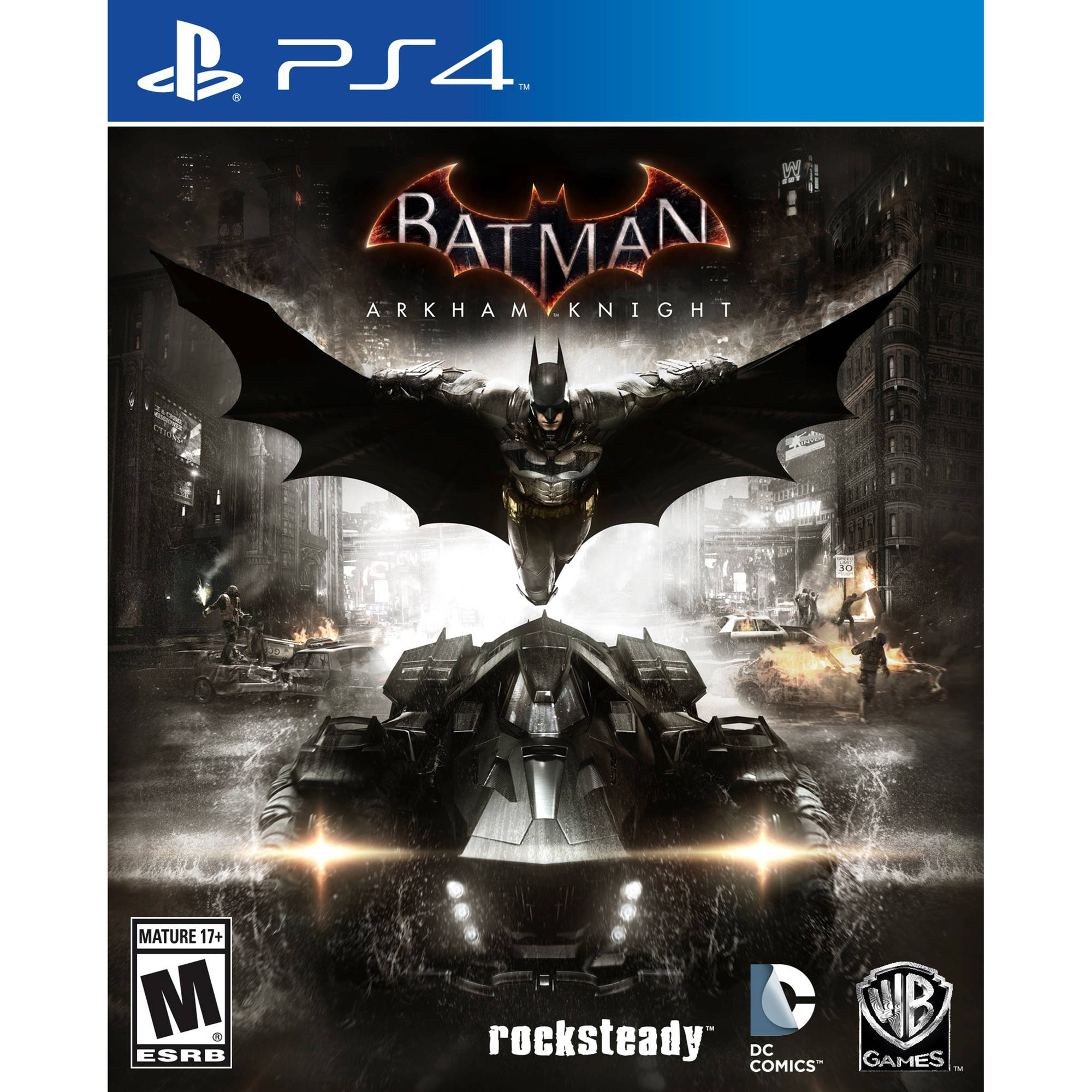 Batman Arkham Knight, Warner, PlayStation 4, 883929412044 by WHV Games
