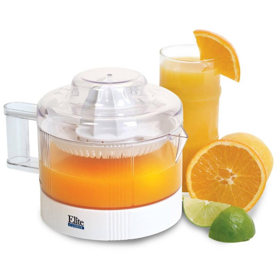 Maxi Matic Elite Cuisine 2.5 Cup Citrus Juicer, White