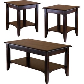 3 Piece Nolan Accent Table Set Cuccino