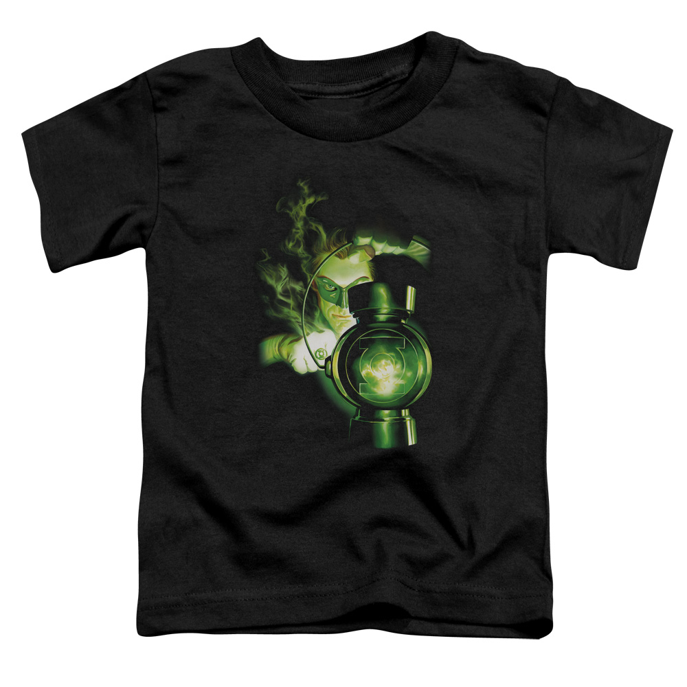 Green Lantern/Lantern Light   S/S Toddler Tee   Black      Gl225