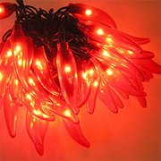 Chili Pepper Lights Red