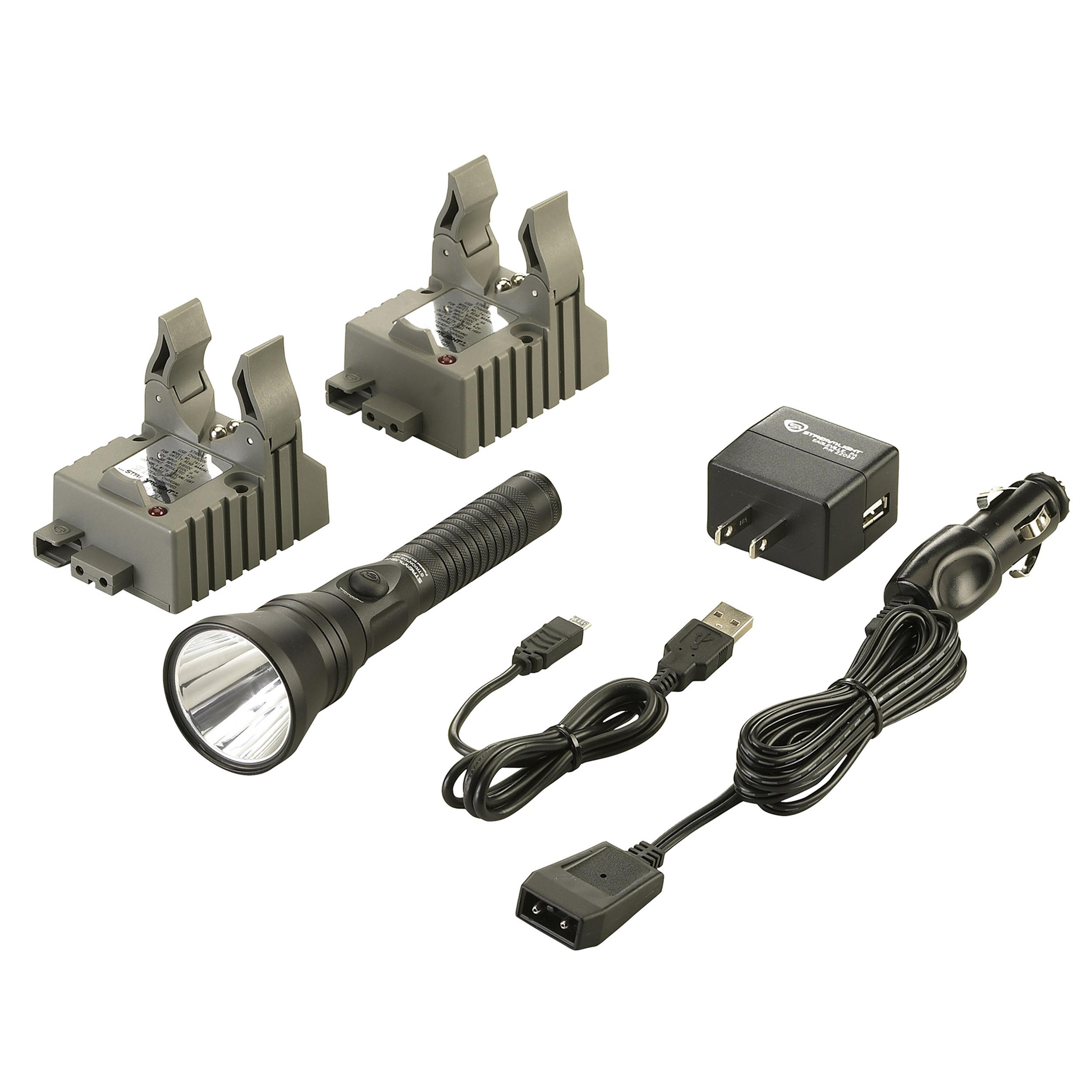 Streamlight Strion DS HPL IEC Type A (120V/100V) AC/12V DC, 2 Holder