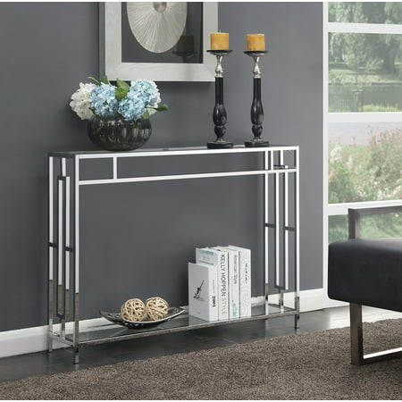 Convenience Concepts Town Square Console Table ()
