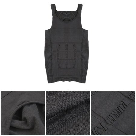Men Slim Body Shaper Belly Fatty Underwear Vest Shirt Corset Compression Tops - image 3 of 10