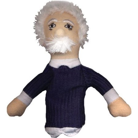 Albert Einstein Magnetic Personalities Finger Puppet Fridge Magnet Refrigerator