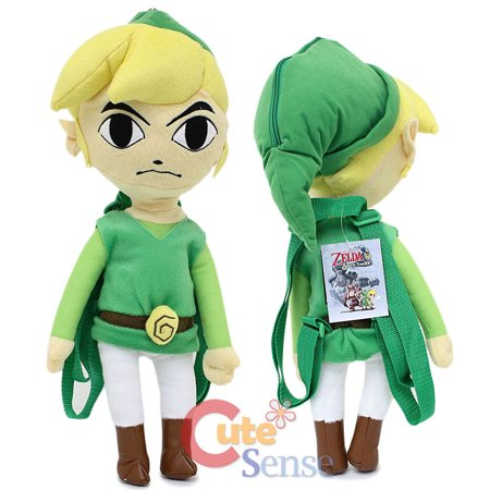 The Legend of Zelda Plush Doll Backpack Custume Bag 19