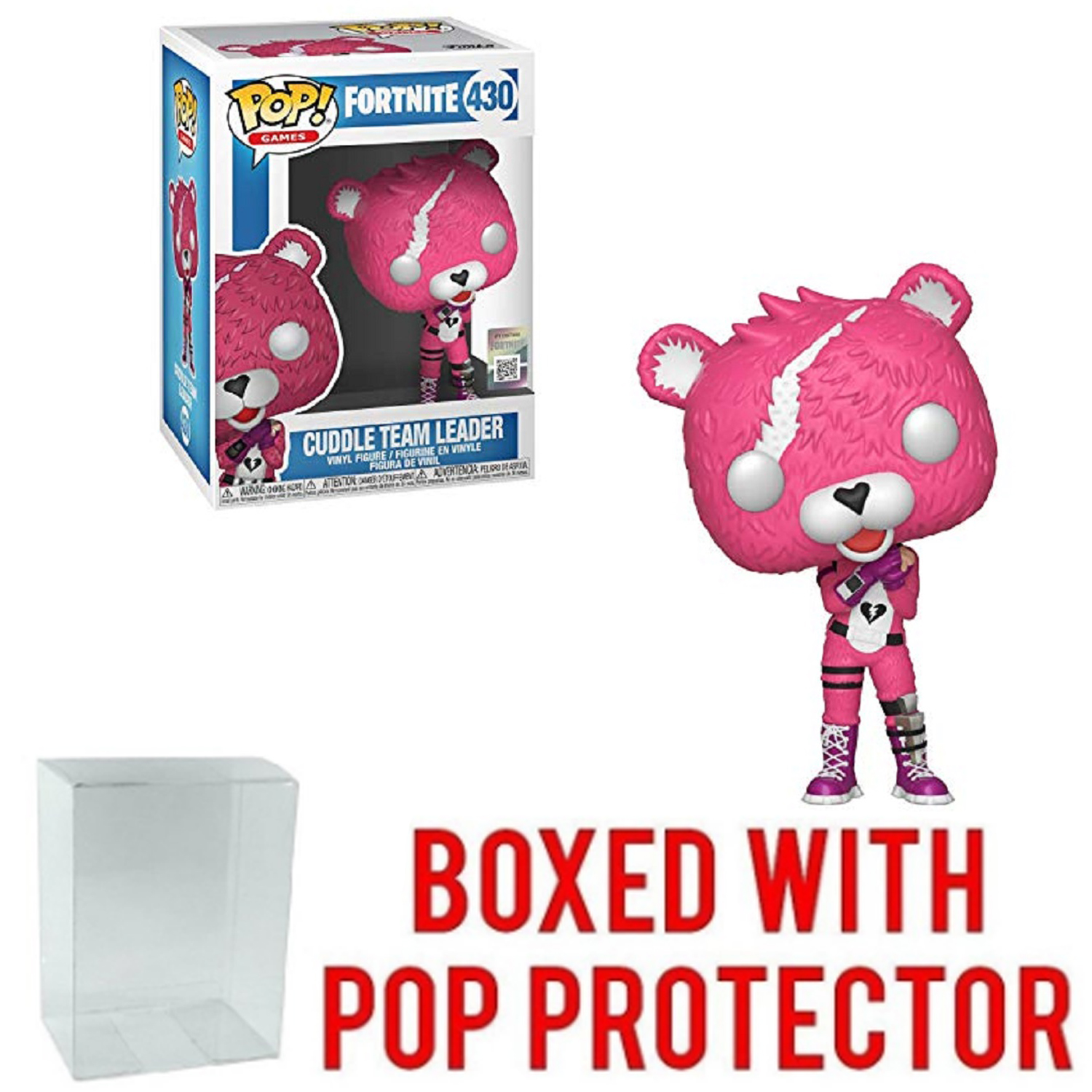 Funko POP - Fortnite - Cuddle Team Leader - with Protector