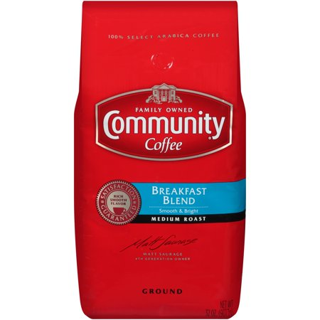 Community® Coffee Breakfast Blend Medium Roast Ground Coffee 32 oz. Bag