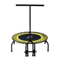 """Airzone Jump 38-Inch Elite Fitness Trampoline with """"T-Handle"""" Yellow"""