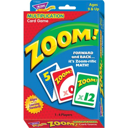 Trend, TEPT76304, Zoom Multiplication Learning Game, 1 Each, Multi ()