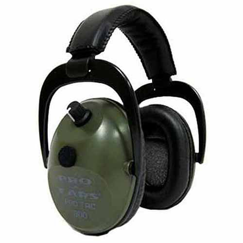 Pro Ears Electronic Hearing Protection Pro Tac Plus Gold, Green