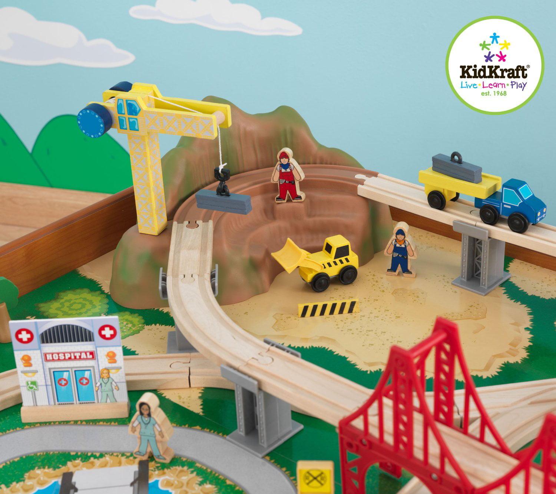 KidKraft Ride Around Train Set And Table   Walmart.com