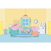 """Marmont Hill """"Peppa in the Kitchen"""" Peppa Pig Painting Print on Canvas"""