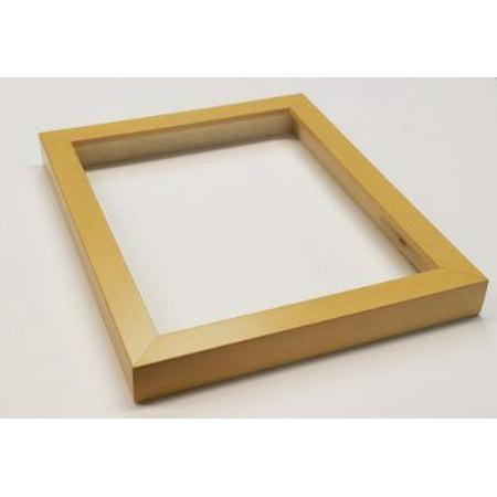 Shadowbox Gallery Wood Frames - Natural, 8 x 10, Wood Shadow Box ...
