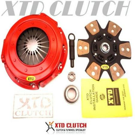 Mustang Clutch Kits - XTD STAGE 3 RACE CERAMIC CLUTCH KIT 1994-2004 FORD MUSTANG 3.8L 3.9L V6 BASE