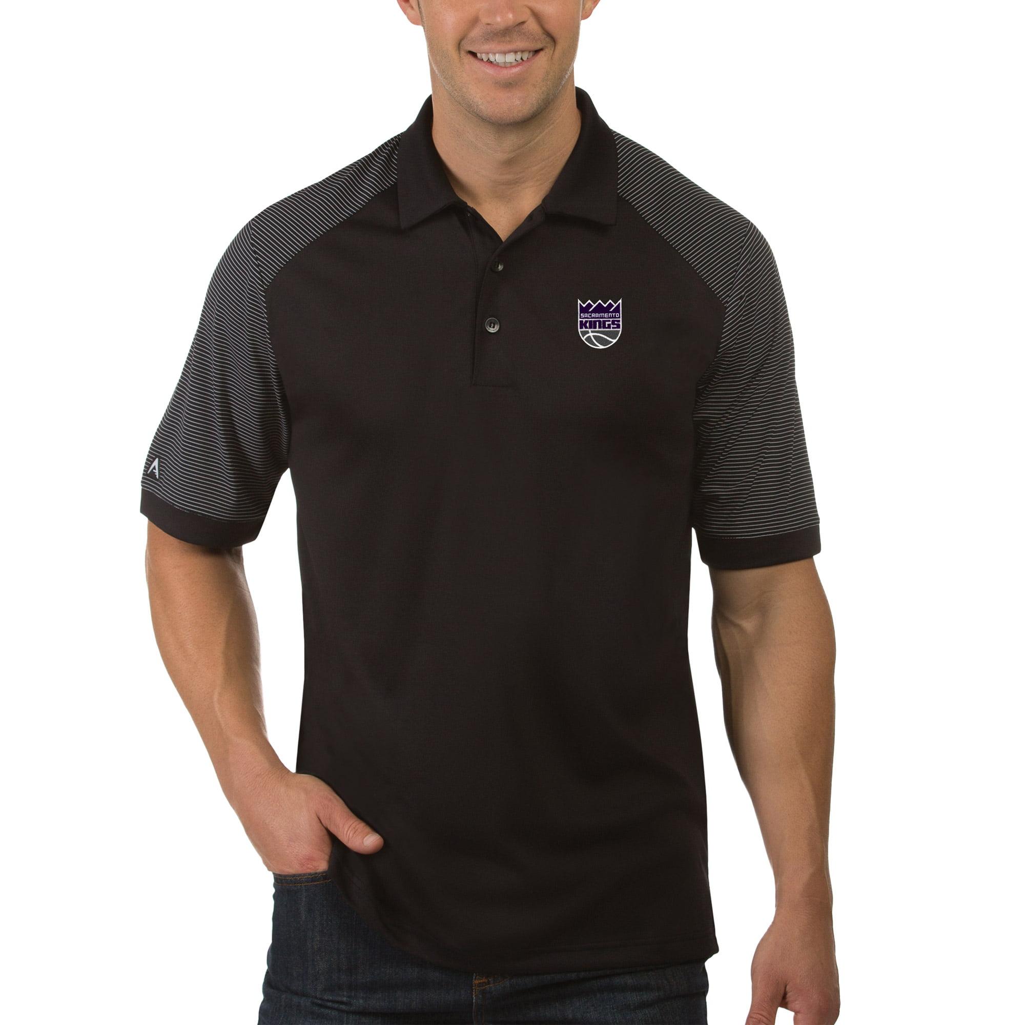 Sacramento Kings Antigua Engage Polo - Black