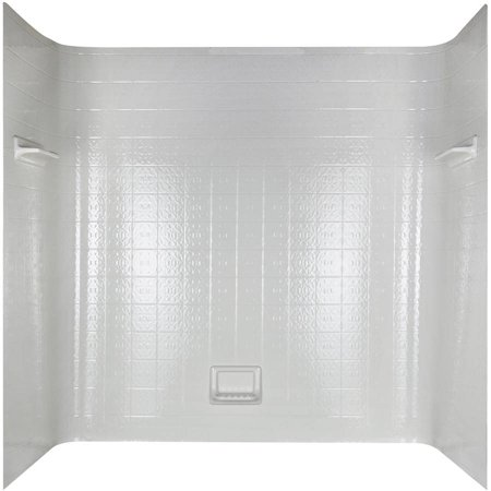 Peerless 36980 White Seamless Bathtub Wall Set Walmart Com