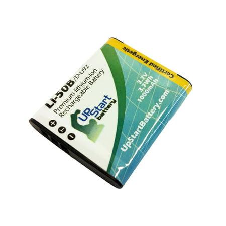Olympus Stylus 1030 SW Battery - Replacement for Olympus LI-50B Digital Camera Battery (1000mAh, 3.7V, (Olympus Stylus 1030 Sw)