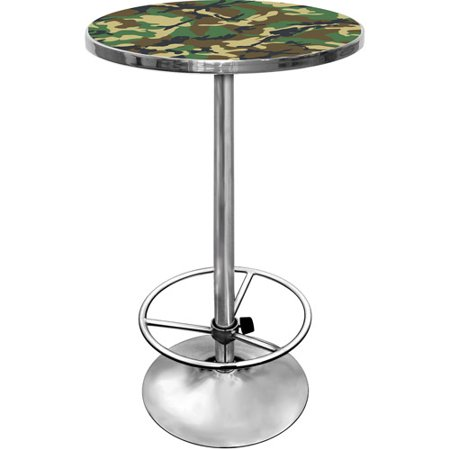 Hunt Camo Gameroom Combo - 2 Bar Stools and Table Set