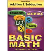 Basic Math: Lesson One Addition And Subtraction by