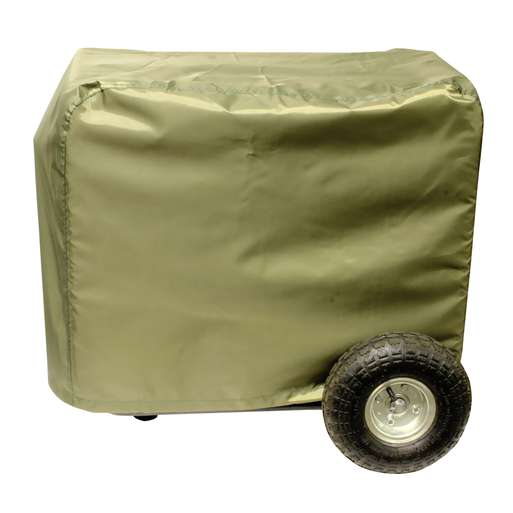 Offex Protective Nylon Generator Cover XL for 7000 Watt Portable Generator - Green