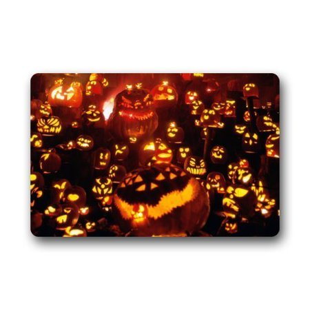 WinHome Halloween Doormat Floor Mats Rugs Outdoors/Indoor Doormat Size 23.6x15.7 inches (Floor 15 Halloween Special)