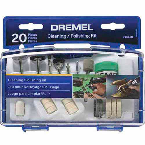 Dremel Cleaning/Polishing Mini Accessory Kit, 684-02