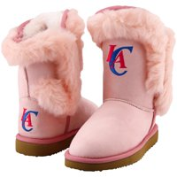 Cuce LA Clippers Youth Girls Mini-Me Fanatic Boots - Pink