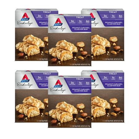 Image of Atkins Endulge Peanut Caramel Cluster Bar, 1.20oz, 30 CT (Treat)