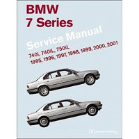 BMW 7 Series (E38) Service Manual: 1995, 1996, 1997, 1998, 1999, 2000, 2001 : 740i, 740il, 750il
