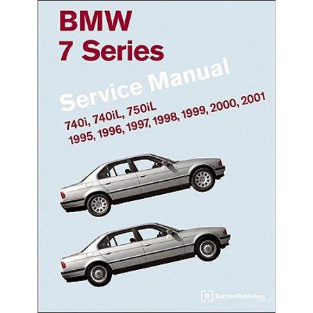 BMW 7 Series (E38) Service Manual: 1995, 1996, 1997, 1998, 1999, 2000, 2001 : 740i, 740il, 750il