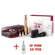 (80% Off) Dr. Pen M5 Anti-Aging Derma Pen Auto Microneedle Microdermabrasion System + 10 42-Pin Cartridges