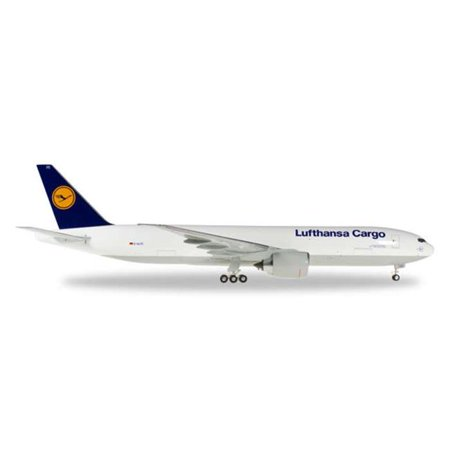 Herpa 200 Scale Commercial Private He556194 001 1 200 Lufthansa Cargo 777F Reg No  D Alfc China
