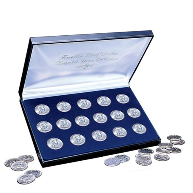 American Coin Treasures 1385 Complete Franklin Silver Half Dollar Collection 1948-1963