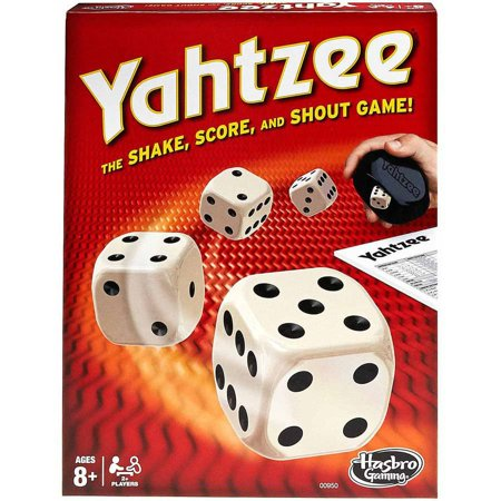 Classic Yahtzee Family Dice Game for Ages 8 and up ()