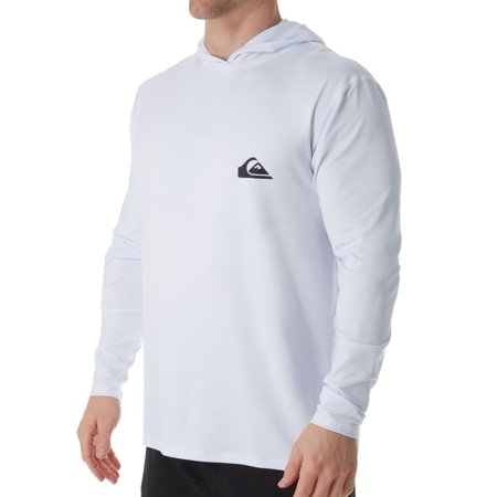 1433e57ce672 Quiksilver - Men's Quiksilver EQYWR3167 Dredge Hooded Long Sleeve Rash  Guard - Walmart.com