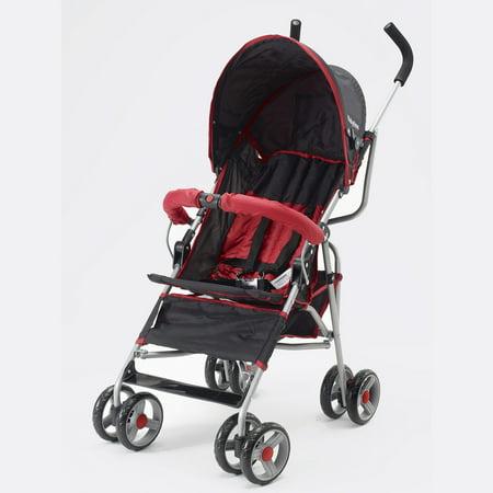 Lexington Stroller Black & Red