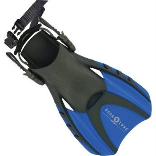 AquaLung Sport Trek II Fin Multi-Sport Snorkeling Fins Small Blue by Aqualung Sport