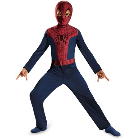 Spider-Man Basic Child Halloween Costume](New Spider Man Costume)