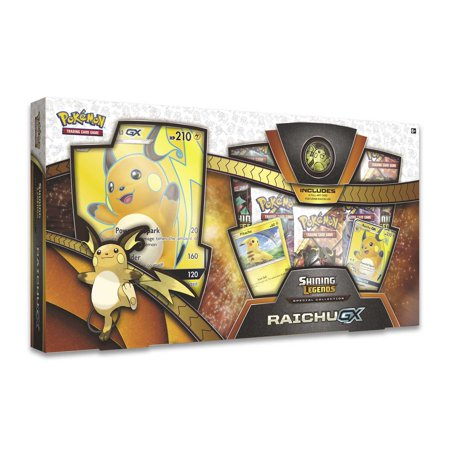 Pokemon Sun & Moon 5 (SM5) Shining Legends Raichu GX SP