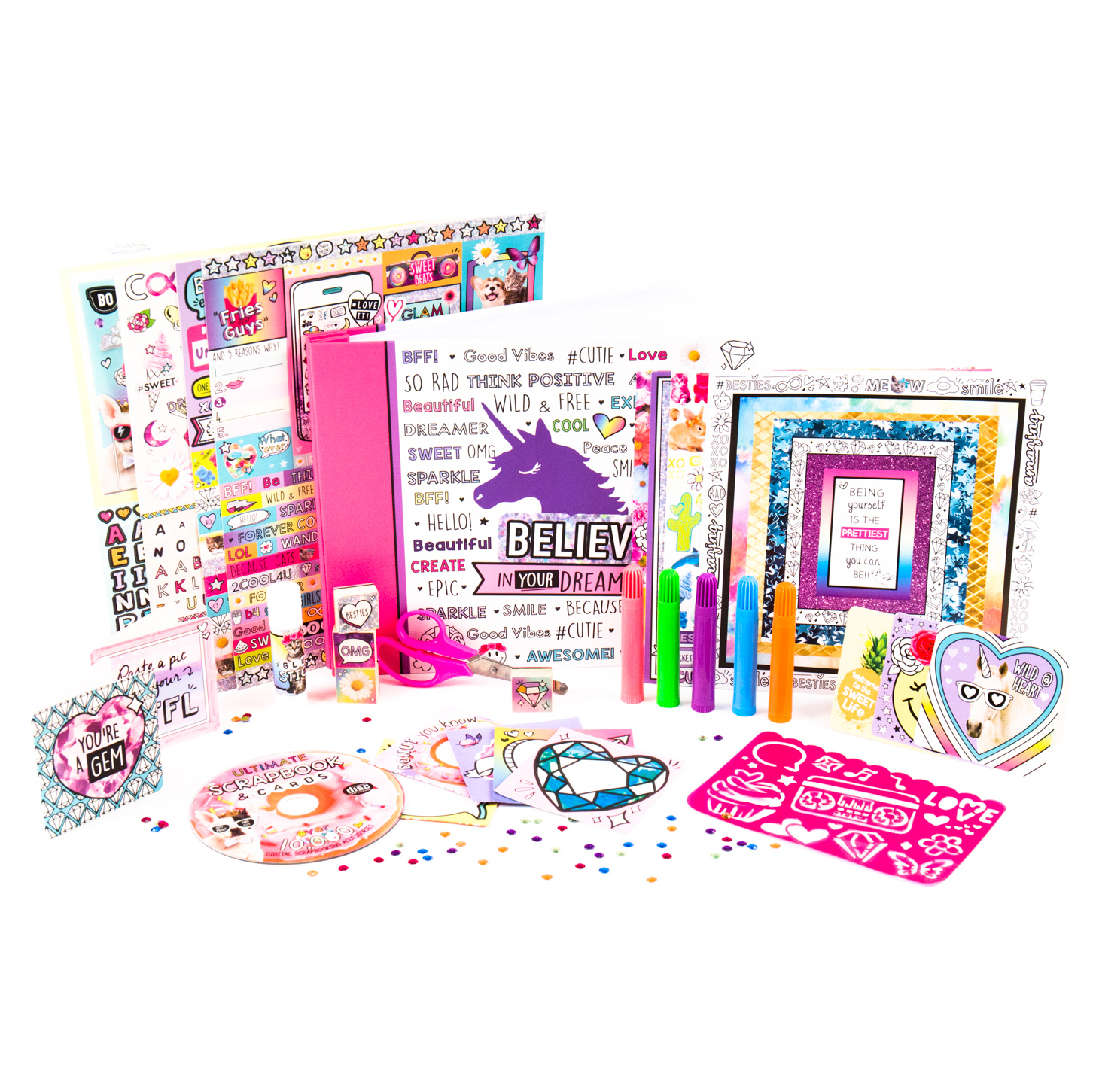 Doodle Deco Your Decor Scrapbook and Cards Art Kit by Horizon Group