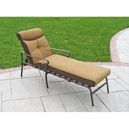 Better homes gardens chaise lounge cushion for Chaise lounge at walmart