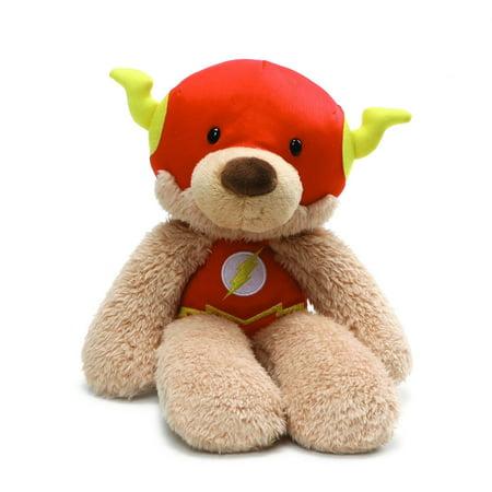 GUND DC Comics Fuzzy Flash Plush Stuffed Animal, 14