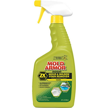 (2 pack) Mold Armor Instant Mold & Mildew Stain Remover, 32 oz, Trigger Spray ()