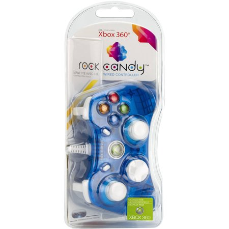PDP Rock Candy Controller, Blue (Xbox 360)