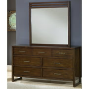Modus Furniture Uptown Mirror, Truffle